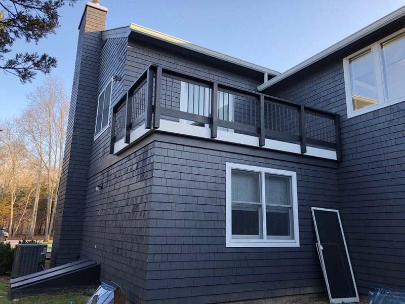 Home Siding Painted In Amagansett NY